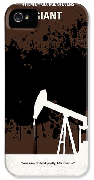No102 My Giant Minimal Movie Poster IPhone 5 Case