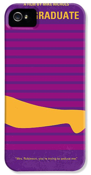 No135 My The Graduate Minimal Movie Poster IPhone 5 Case
