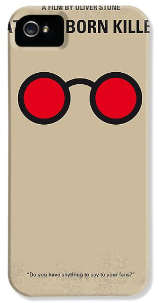 No139 My Natural Born Killers Minimal Movie Poster IPhone 5 / 5s Case by Chungkong Art
