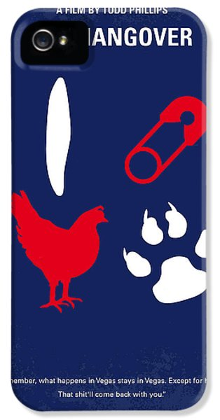 No145 My The Hangover Part 1 Minimal Movie Poster IPhone 5 Case by Chungkong Art
