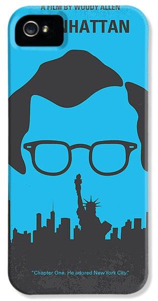 No146 My Manhattan Minimal Movie Poster IPhone 5 Case by Chungkong Art