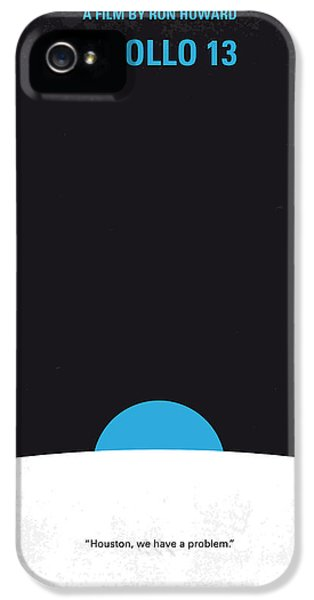 No151 My Apollo 13 Minimal Movie Poster IPhone 5 Case by Chungkong Art
