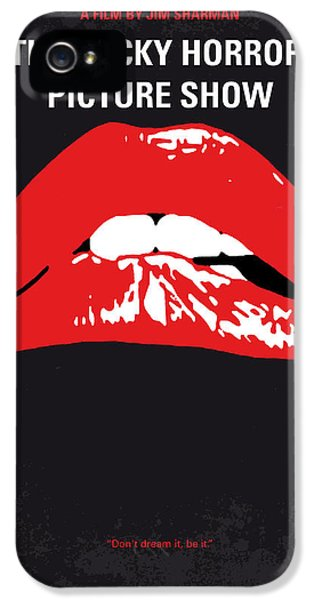 Castle iPhone 5 Case - No153 My The Rocky Horror Picture Show Minimal Movie Poster by Chungkong Art