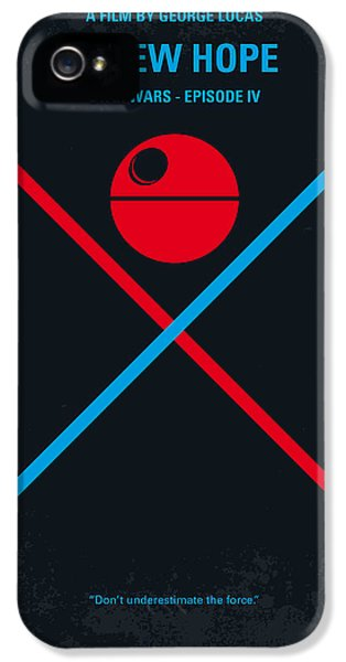 No154 My Star Wars Episode Iv A New Hope Minimal Movie Poster IPhone 5 Case