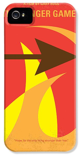 Apple iPhone 5 Case - No175 My Hunger Games Minimal Movie Poster by Chungkong Art