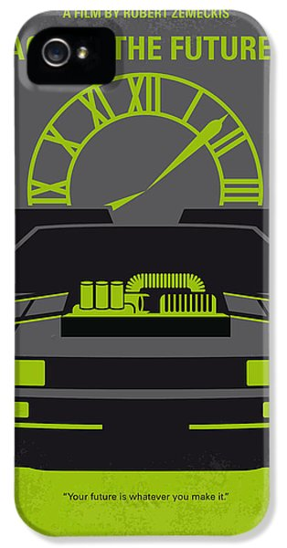 No183 My Back To The Future Minimal Movie Poster-part IIi IPhone 5 Case