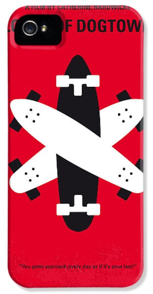 No188 My The Lords Of Dogtown Minimal Movie Poster IPhone 5 Case by Chungkong Art