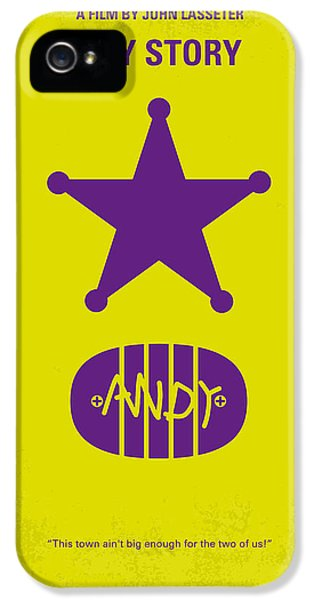 No190 My Toy Story Minimal Movie Poster IPhone 5 Case by Chungkong Art