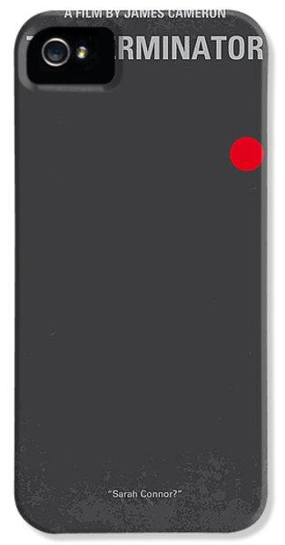 No199 My Terminator Minimal Movie Poster IPhone 5 Case