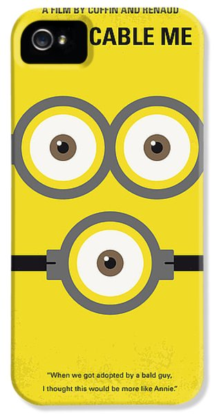 No213 My Despicable Me Minimal Movie Poster IPhone 5 Case by Chungkong Art