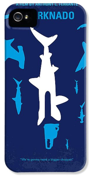 No216 My Sharknado Minimal Movie Poster IPhone 5 Case by Chungkong Art