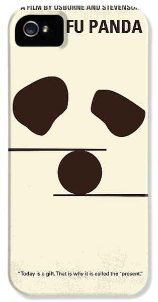 No227 My Kung Fu Panda Minimal Movie Poster IPhone 5 Case by Chungkong Art