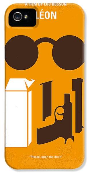 No239 My Leon Minimal Movie Poster IPhone 5 Case