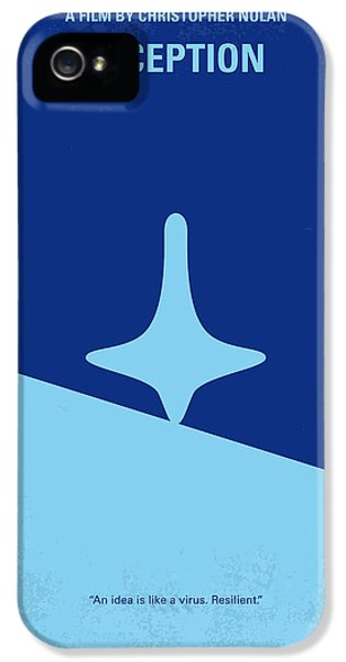 Hollywood iPhone 5 Case - No240 My Inception Minimal Movie Poster by Chungkong Art