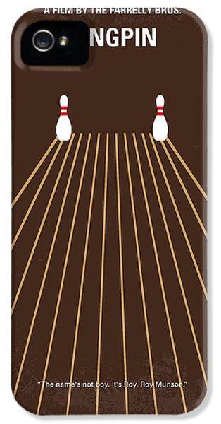 No244 My Kingpin Minimal Movie Poster IPhone 5 Case