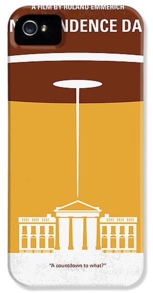 No249 My Independence Day Minimal Movie Poster IPhone 5 Case