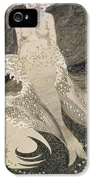 The Mermaid IPhone 5 Case by Sidney Herbert Sime