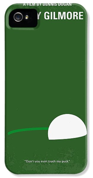 Hockey iPhone 5 Case - No256 My Happy Gilmore Minimal Movie Poster by Chungkong Art