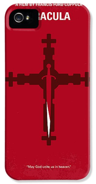 No263 My Dracula Minimal Movie Poster IPhone 5 Case
