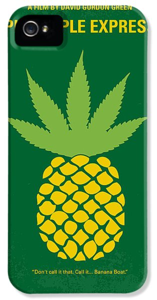 No264 My Pineapple Express Minimal Movie Poster IPhone 5 Case by Chungkong Art