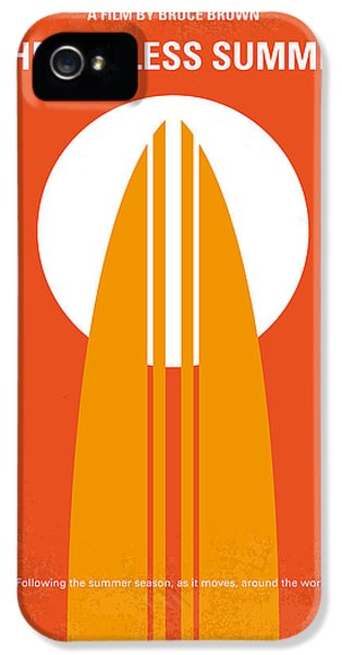 Fruits iPhone 5 Case - No274 My The Endless Summer Minimal Movie Poster by Chungkong Art