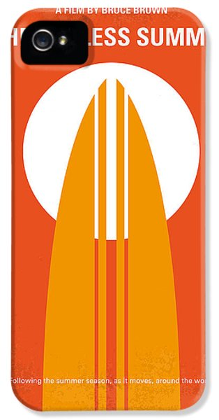 No274 My The Endless Summer Minimal Movie Poster IPhone 5 Case by Chungkong Art