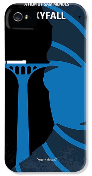 No277-007-2 My Skyfall Minimal Movie Poster IPhone 5 Case by Chungkong Art