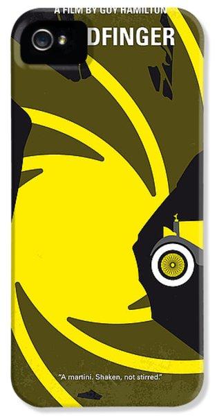 No277-007 My Goldfinger Minimal Movie Poster IPhone 5 Case