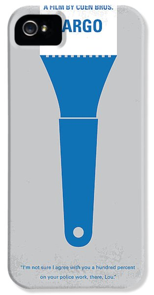 No283 My Fargo Minimal Movie Poster IPhone 5 Case