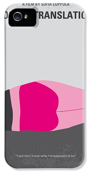 No287 My Lost In Translation Minimal Movie Poster IPhone 5 Case