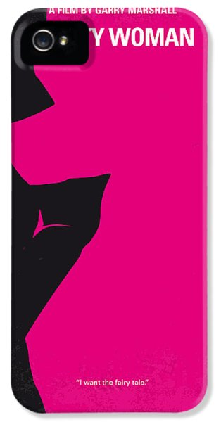 No307 My Pretty Woman Minimal Movie Poster IPhone 5 Case