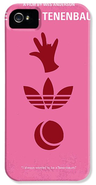 No320 My The Royal Tenenbaums Minimal Movie Poster IPhone 5 Case