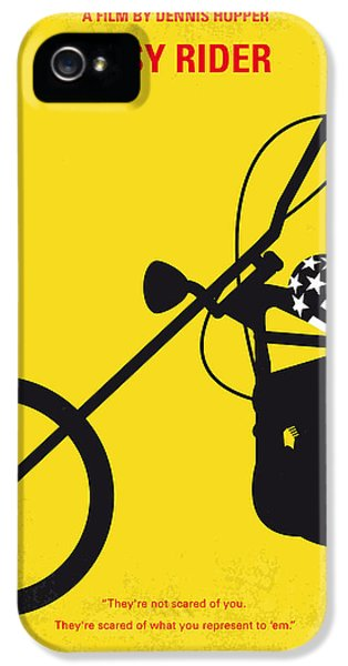 Jack Nicholson iPhone 5 Case - No333 My Easy Rider Minimal Movie Poster by Chungkong Art