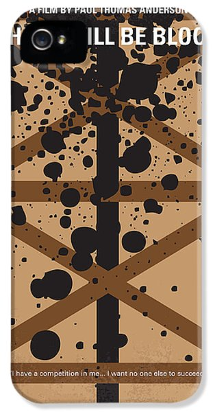 No358 My There Will Be Blood Minimal Movie Poster IPhone 5 Case by Chungkong Art