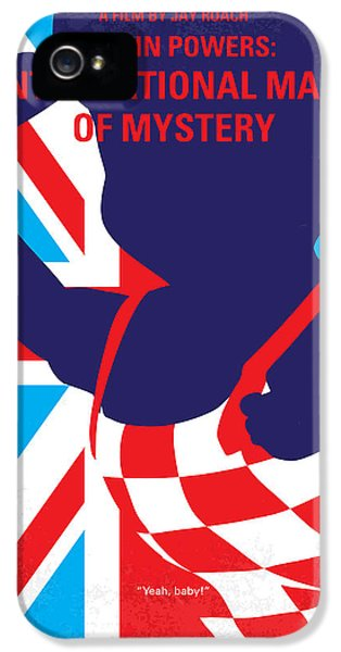 No373 My Austin Powers I Minimal Movie Poster IPhone 5 Case by Chungkong Art