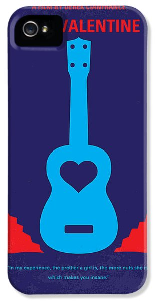 No379 My Blue Valentine Minimal Movie Poster IPhone 5 Case by Chungkong Art
