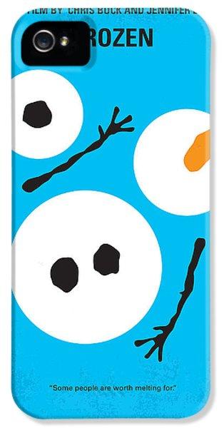 No396 My Frozen Minimal Movie Poster IPhone 5 Case