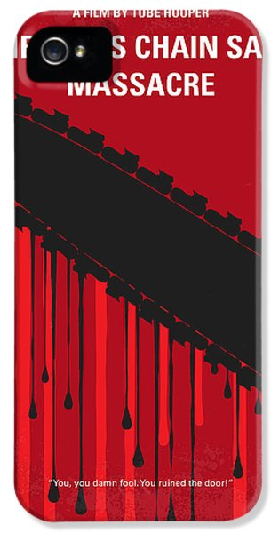 No410 My The Texas Chain Saw Massacre Minimal Movie Poster IPhone 5 Case