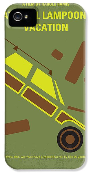 No412 My National Lampoons Vacation Minimal Movie Poster IPhone 5 Case