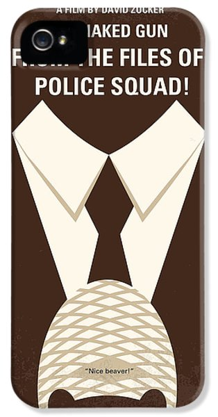 No432 My The Naked Gun Minimal Movie Poster IPhone 5 Case
