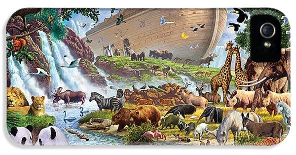 Noahs Ark - The Homecoming IPhone 5 Case by Steve Crisp