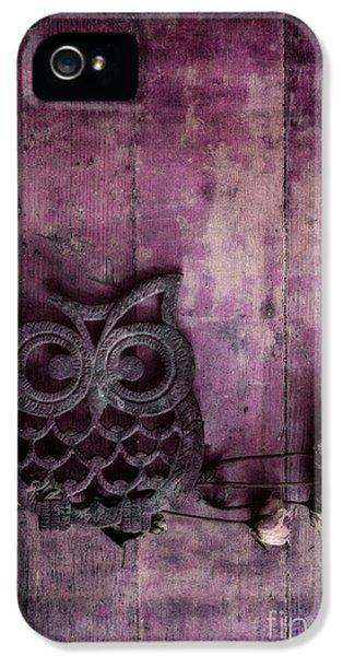 Nocturnal In Pink IPhone 5 / 5s Case by Priska Wettstein