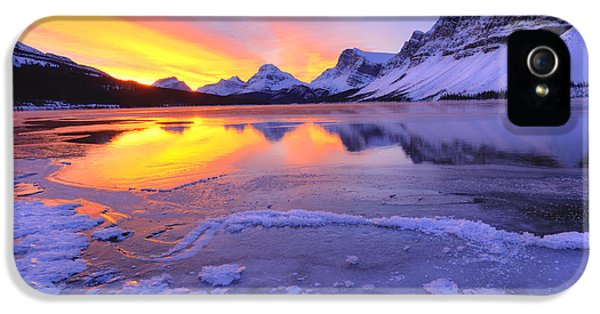 November Freeze 2 IPhone 5 Case by Dan Jurak
