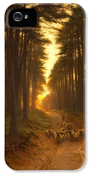 Now Came Still Evening On, Circa 1905 IPhone 5 Case by Joseph Farquharson