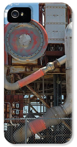 Nuclear-powered Jet Test Stand IPhone 5 Case by Jim West