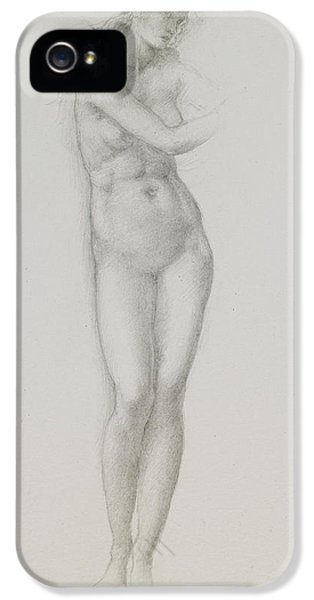 Nude Female Figure Study For Venus From The Pygmalion Series IPhone 5 Case