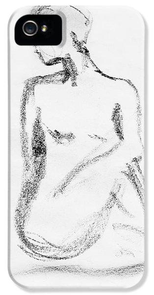 Nude Model Gesture Vi IPhone 5 Case