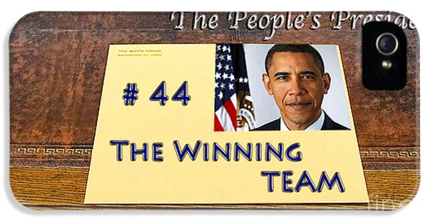Number 44 - The Winning Team IPhone 5 Case by Terry Wallace