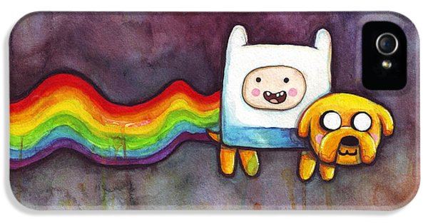Nyan Time IPhone 5 / 5s Case by Olga Shvartsur