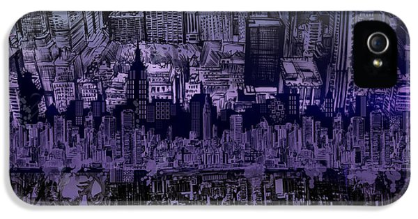 Nyc Tribute Skyline IPhone 5 Case